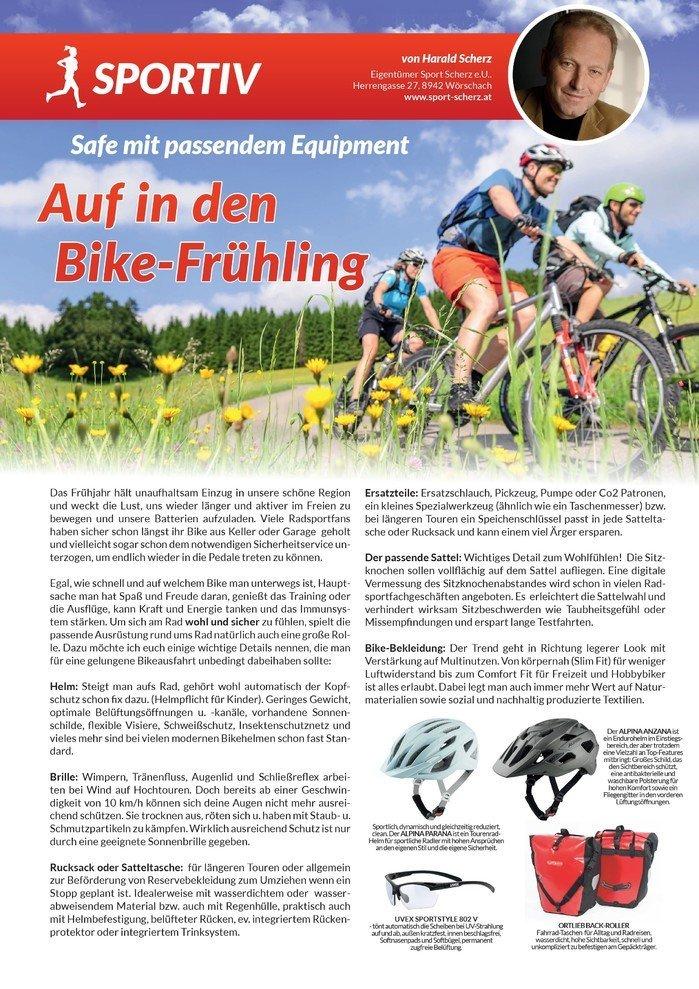 Auf in den Bikefrühling 2021