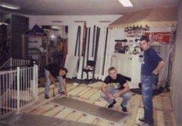 Umbau des Sportgeschäftes im Stammhaus Wörschach / 1. Zubau in der Filiale Riesneralm