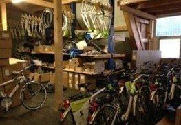 Bau eines Lagers bei Haus Vasold / Innenausbau von Etage 1 der Bike-Pyramide