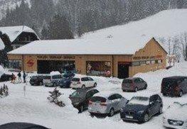 Neubau Filiale Riesneralm Sportshop inkl. Lebensmittel Minimarkt