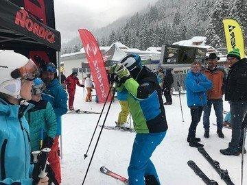 Jährlicher Skitesttag